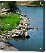 Goldwater Colors Acrylic Print