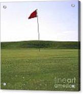 Golf Acrylic Print by Bernard Jaubert