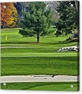 Golf Course Guardians Acrylic Print