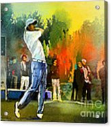 Golf In Gut Laerchehof Germany 01 Acrylic Print