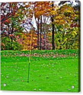 Golf My Way Acrylic Print by Frozen in Time Fine Art Photography