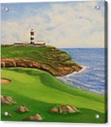 Golf Old Head Of Kinsale Acrylic Print