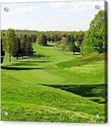 Golfer's Dream Acrylic Print