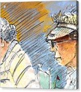 Golfers In Soufflenheim 02 Acrylic Print