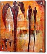 Golgotha Petroglyph Acrylic Print