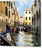 Gondola 158-venice Acrylic Print