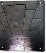 Gondola Ride Tunnel Acrylic Print
