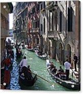 Gondolas - Venice Acrylic Print