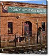 Gone With The Wind Museum Acrylic Print