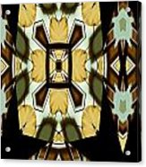 Gong Sound Mandala Yantra Acrylic Print