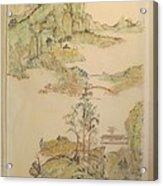 Gongbi Landscape # 4 Acrylic Print