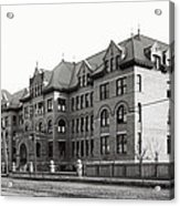 Gonzaga College Spokane 1900 Acrylic Print by Daniel Hagerman