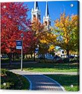 Gonzaga Pathway Acrylic Print