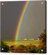 Gonzalo Rainbow Acrylic Print
