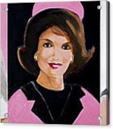 Good And Plenty Jackie O  Acrylic Print by Candace Lovely