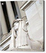 Good Day Sweetie -- A Friendly Sphinx Acrylic Print