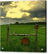 Good Fences Acrylic Print