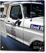 Good Humor Ice Cream Truck 02 Acrylic Print