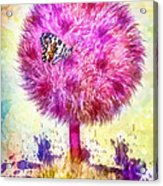 Good Luck Tree Acrylic Print by Mo T