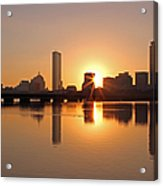 Good Morning Boston Acrylic Print by Juergen Roth