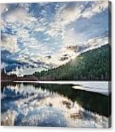 Good Morning Pemberton Acrylic Print by James Wheeler