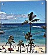Good Morning Waikiki Acrylic Print