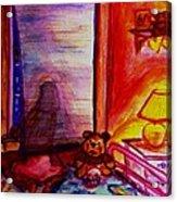 Good Night Angels Acrylic Print