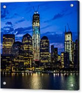 Good Night, New York Acrylic Print