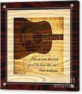 Good Ole Boys - Don Williams Acrylic Print
