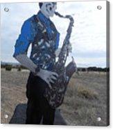 Good Sax Acrylic Print