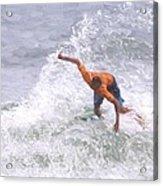 Good Surf Acrylic Print