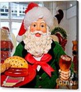 Good Time Santa Acrylic Print
