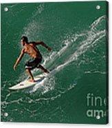 Good Waves Good Body Acrylic Print