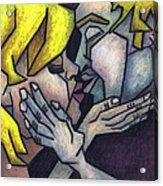 Goodnight Kiss Acrylic Print by Kamil Swiatek