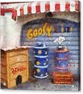Goofy Water Disneyland Toontown Photo Art 02 Acrylic Print