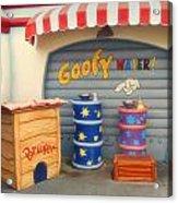 Goofy Water Disneyland Toontown Acrylic Print