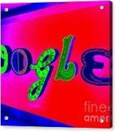 Google's Hallway Acrylic Print