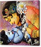 Gopalji Acrylic Print by Lila Shravani