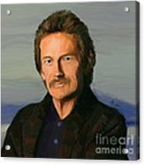 Gordon Lightfoot Acrylic Print by GCannon