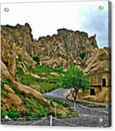 Goreme Open Air Musuem With Six Early Christian Churches In Capp Acrylic Print