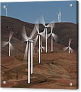 Gorge Windmills Acrylic Print