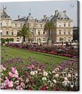 Gorgeous Day In Paris Acrylic Print