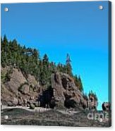 Gorgeous Rock Formations Acrylic Print