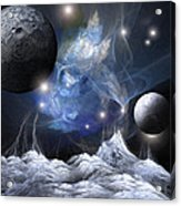Gorgeous Spacescape From One Planet Acrylic Print