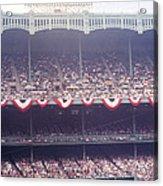 Gorgeous View Of Old Yankee Stadium Acrylic Print