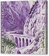 Gorges Kerrata Acrylic Print