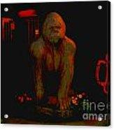 Gorilla Painted Acrylic Print