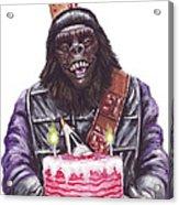 Gorilla Party Acrylic Print