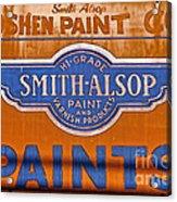 Goshen Paint Company Acrylic Print