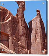 Gossips At Arches National Park Acrylic Print